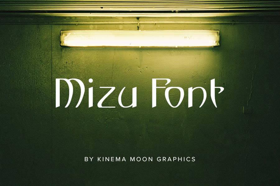 Mizu Font