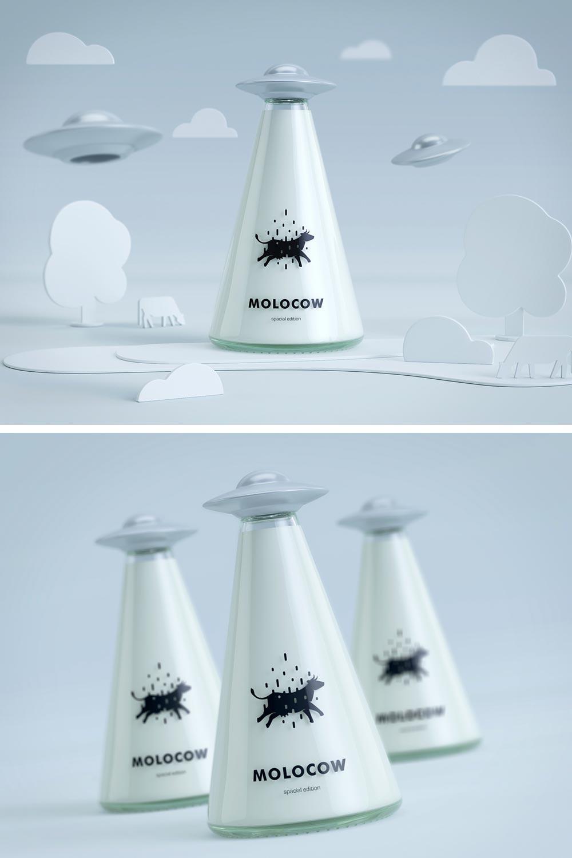 Molocow - milk package concept