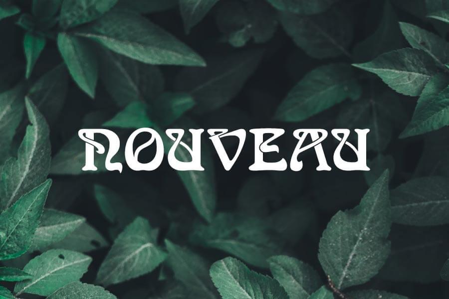 Nouveau Font