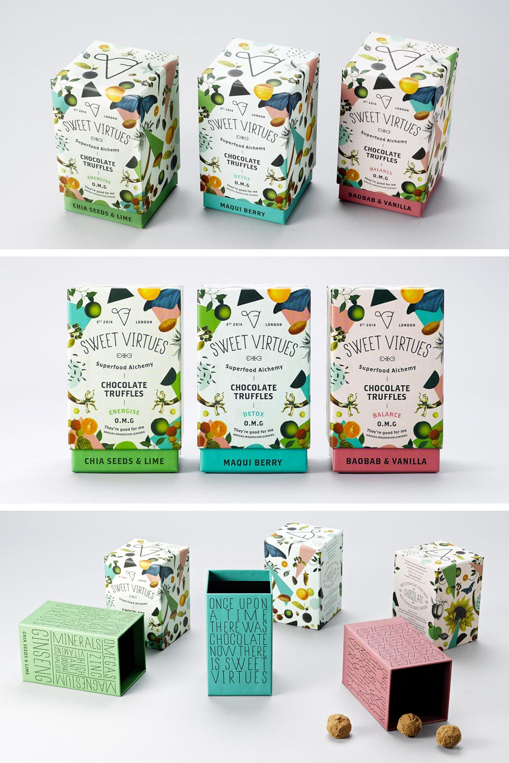 Sweet Virtues Packaging