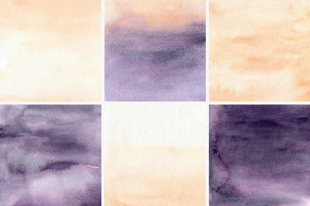Watercolor Backgrounds — Blush