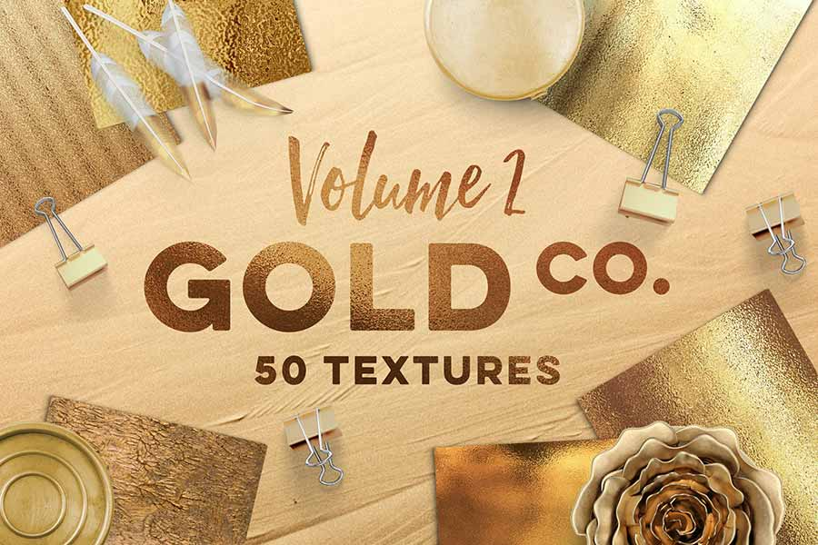 50 Gold Textures