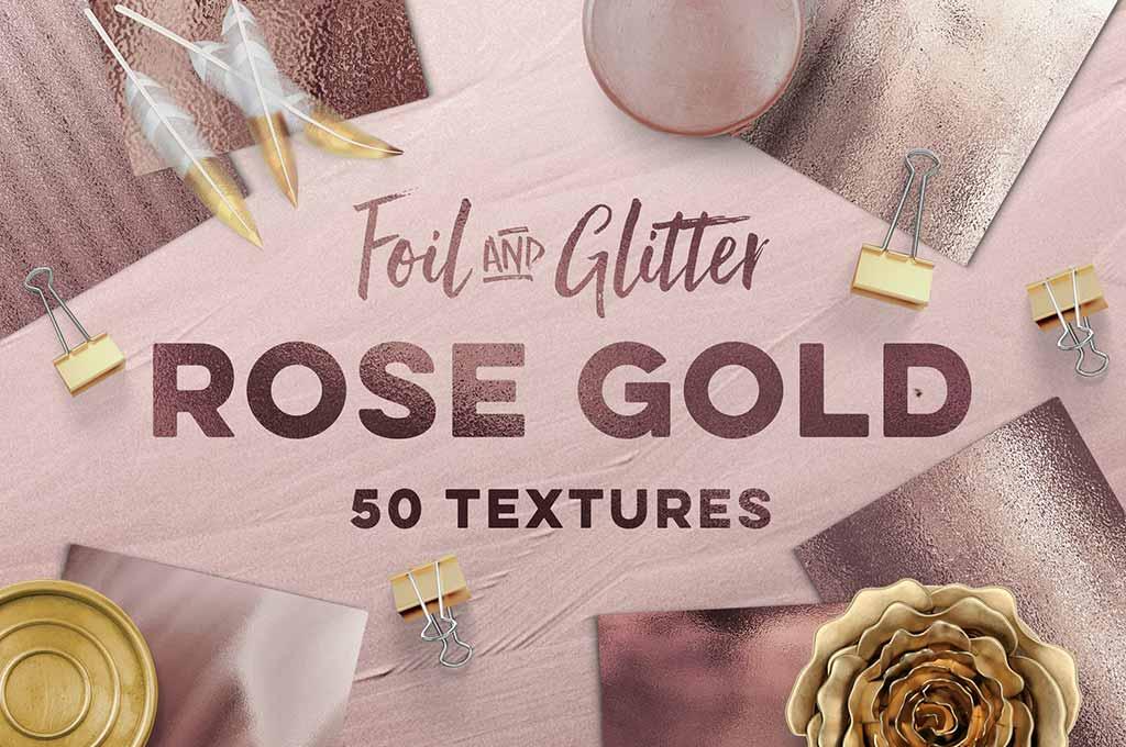 50 Rose Gold Textures