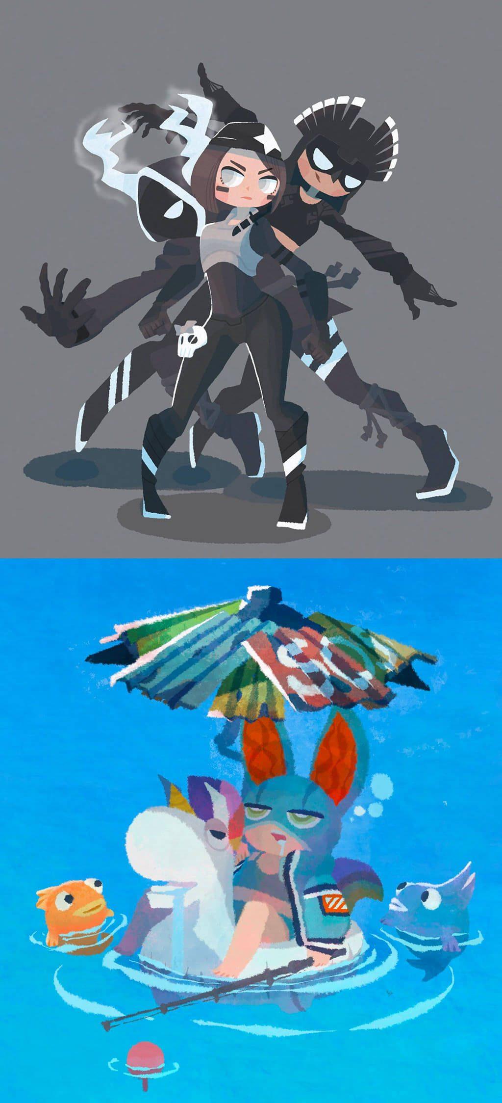 Fortnite Fan Art by じんたそ@お絵描きゲーマー