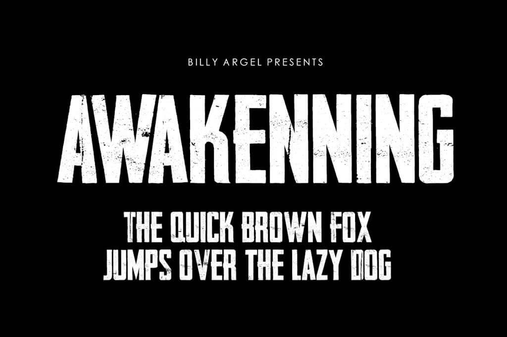 Awakenning Font