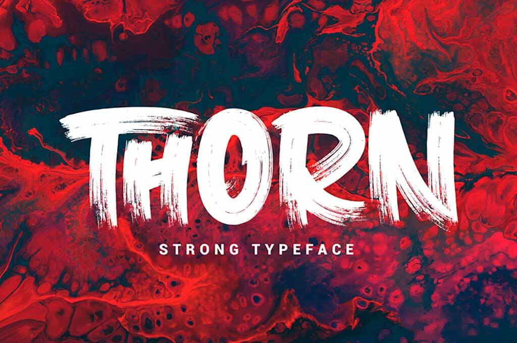 Thorn Font