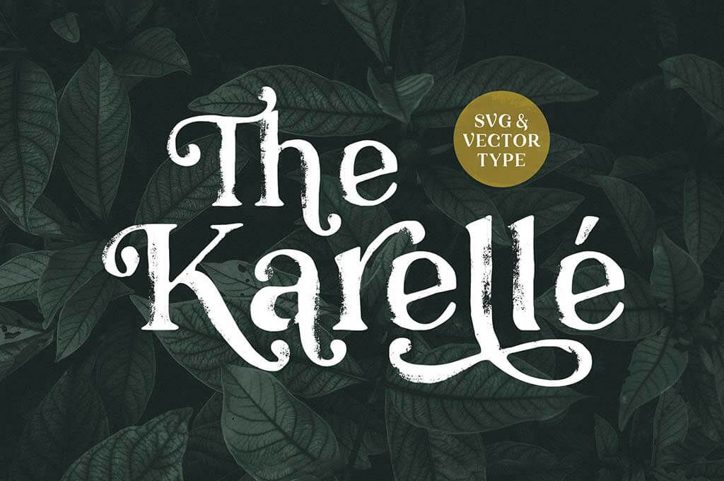 Karelle Serif Font