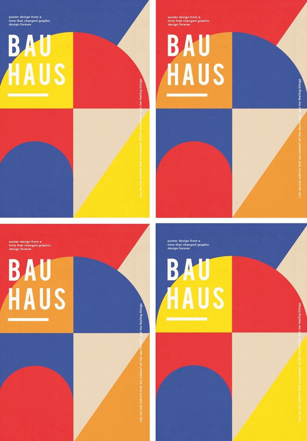Bauhaus Poster Concepts by Dina El Geweli