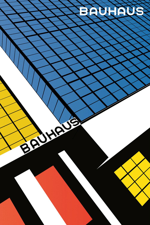 Bauhaus Poster by Bauhaus Movement