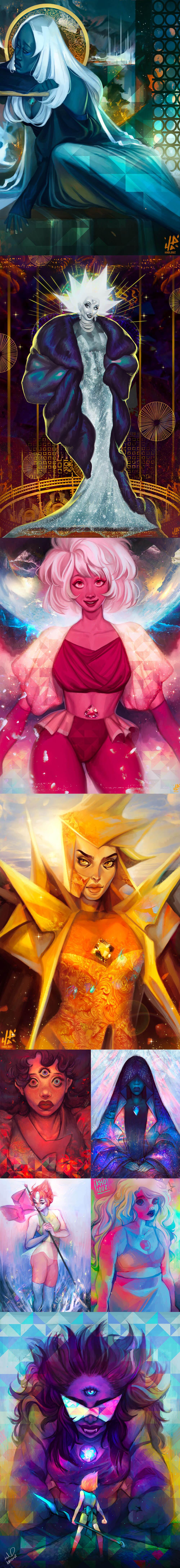Steven Universe Fan Art by Kholoud Al-Ejily