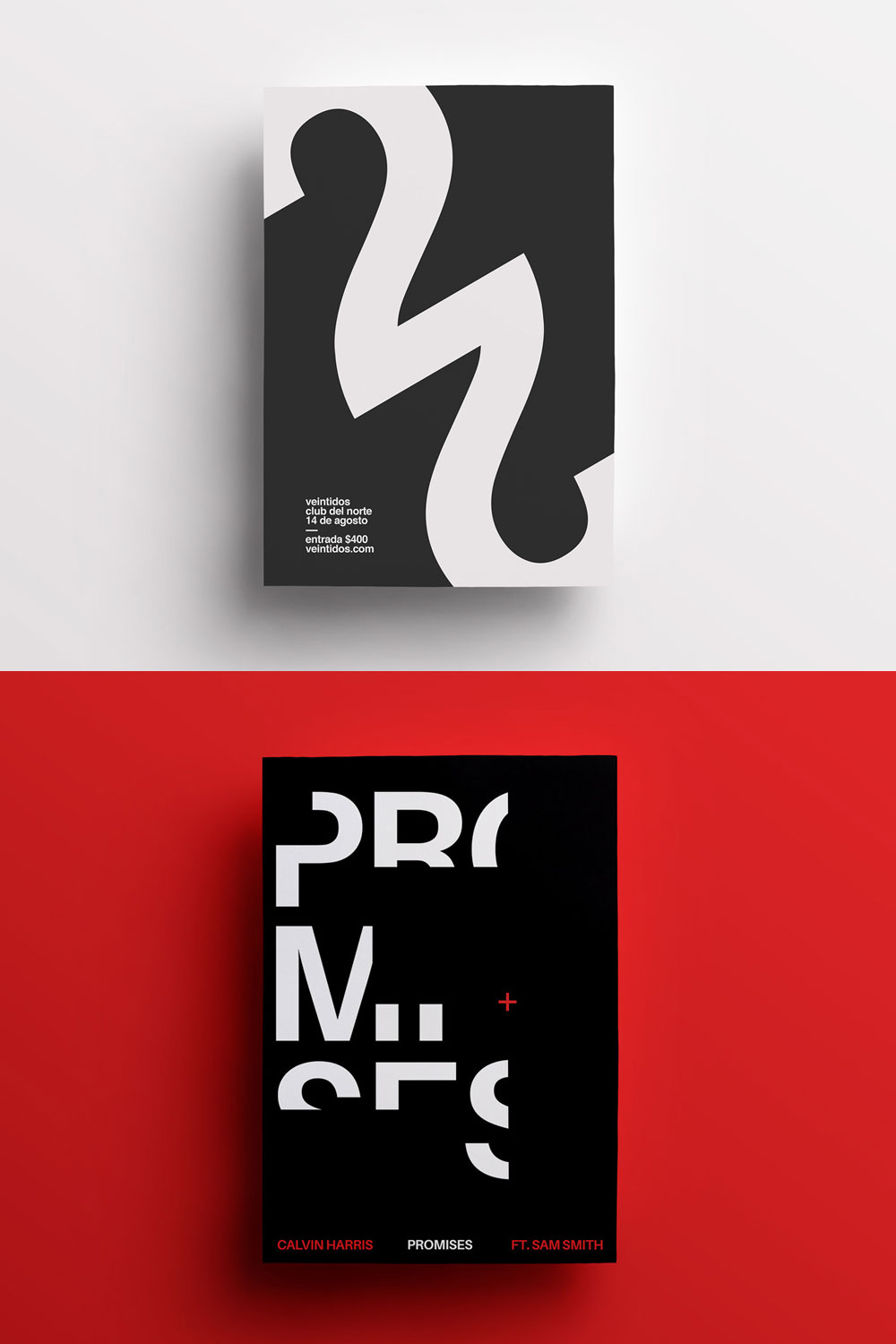 Typographic Posters Collection by Mauri Davida