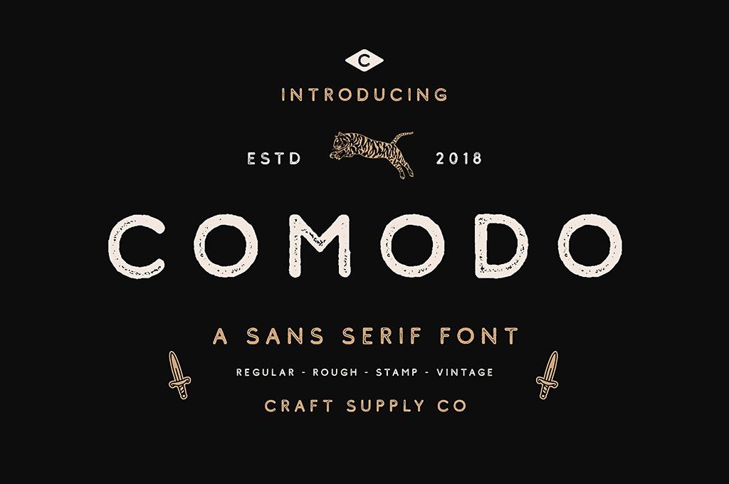 Comodo Sans Serif