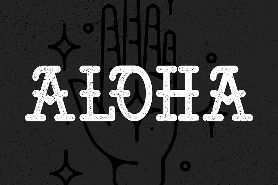 Aloha Tattoo Type
