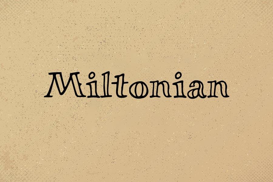 Miltonian Font Family