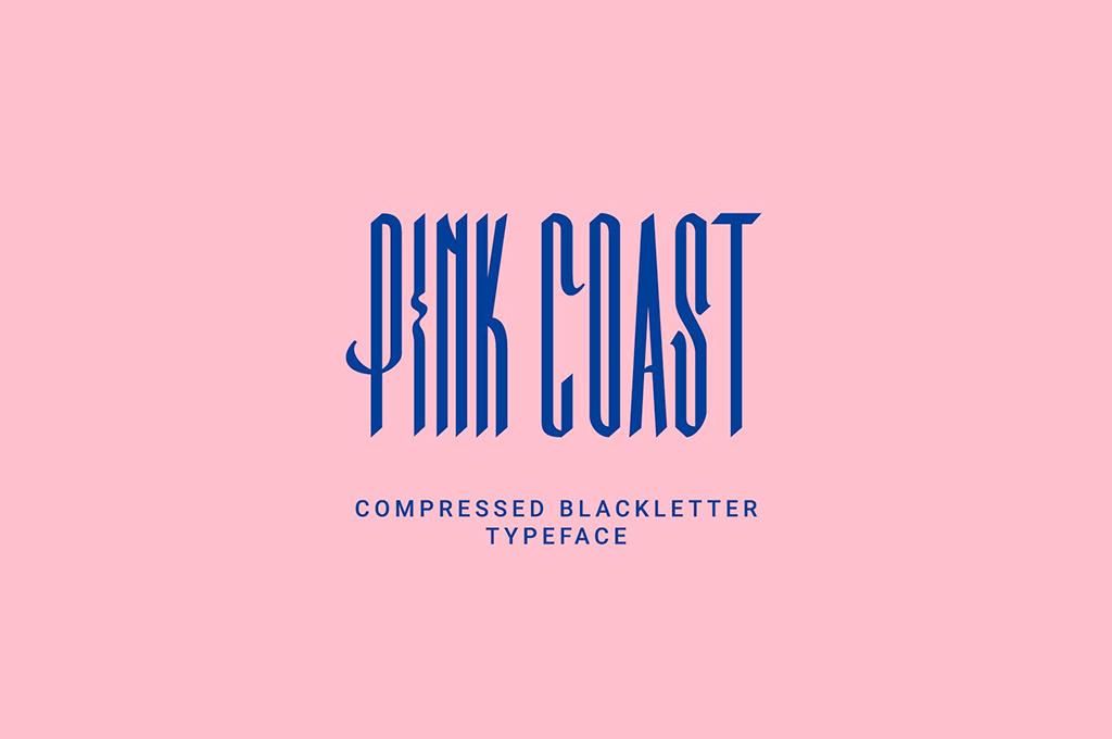Pink Coast Typefaces