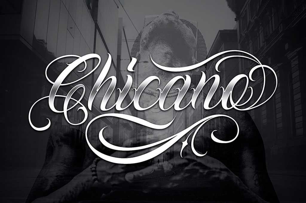 Chicano Font | Tattoo Style