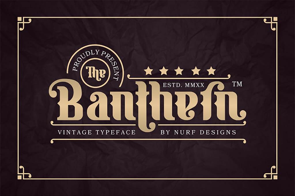 Banthern Font