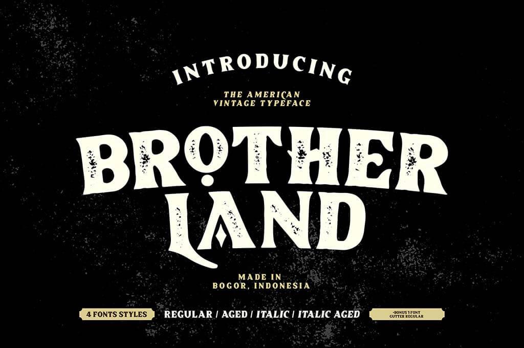 Brotherland Font