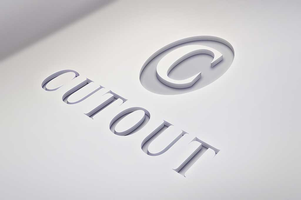Cutout Free Logo Mockup