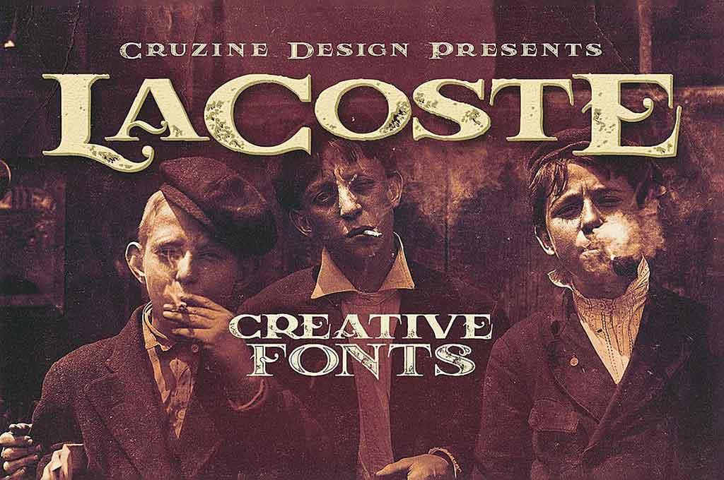 LaCoste Typeface