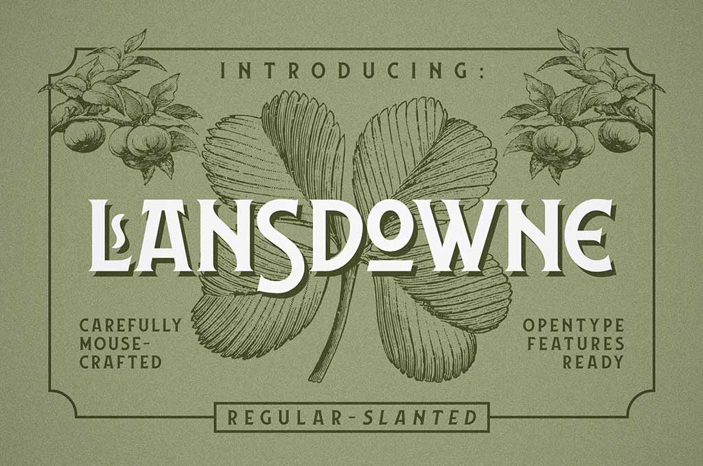 Lansdowne Decorative Font