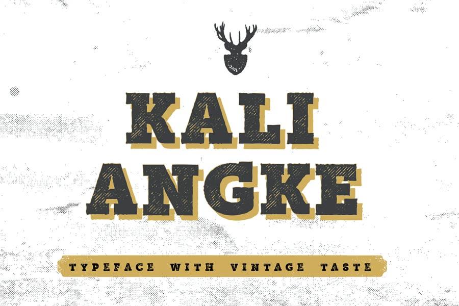 Mutiara Vintage Typeface