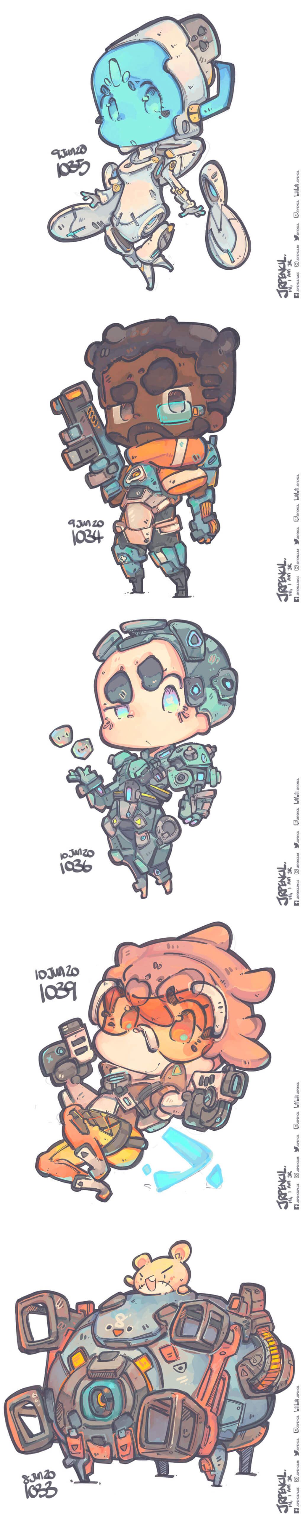 Overwatch Fan Art by Jr Pencil