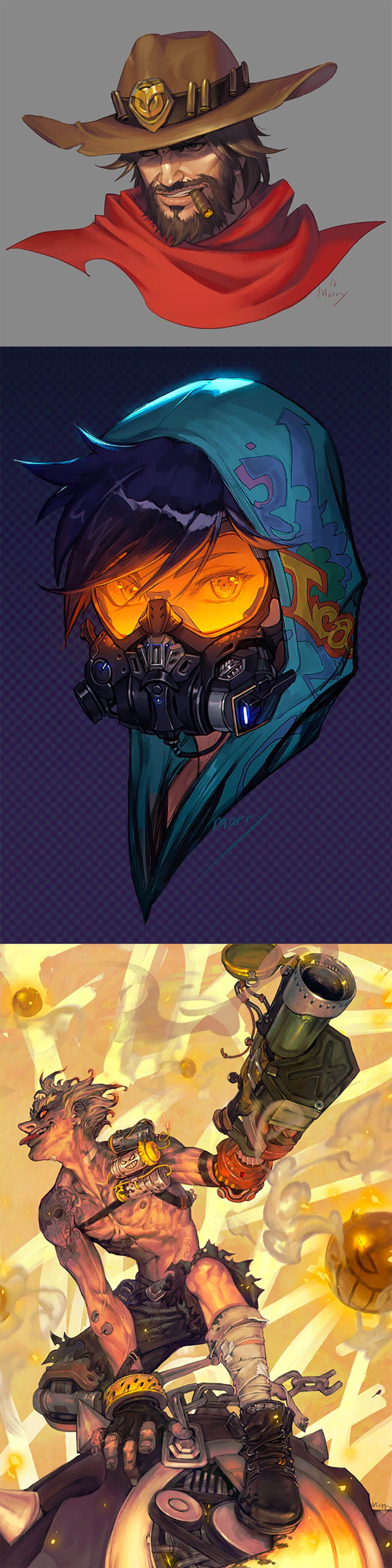 Overwatch Fan Art by Morry