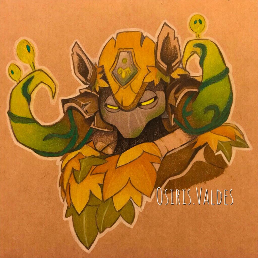 Overwatch Fan Art by Osiris Valdes