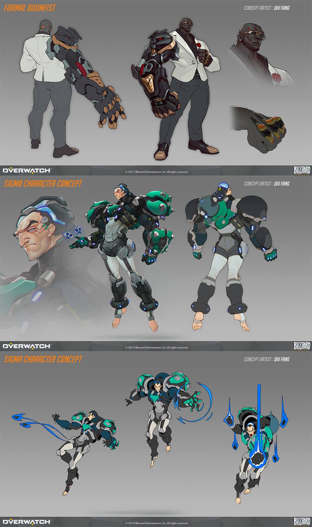 Overwatch Fan Art by Qiu Fang