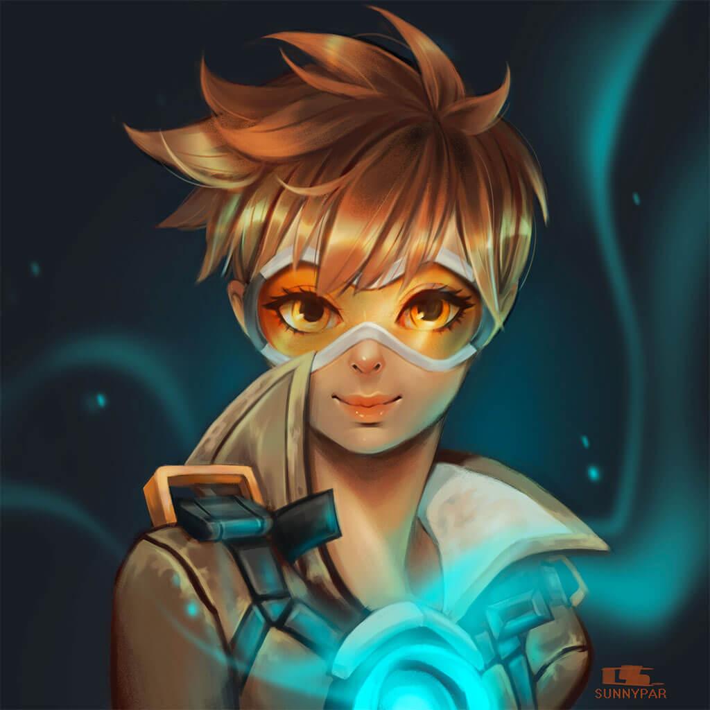 Overwatch Fan Art by Sunny Par