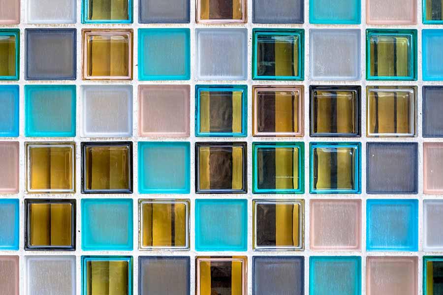 Transparent Wall — Glass Texture