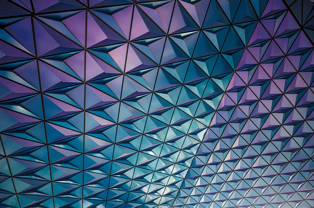 Mosaic Glass Texture