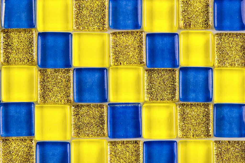 Colorful Mosaic Glass Background