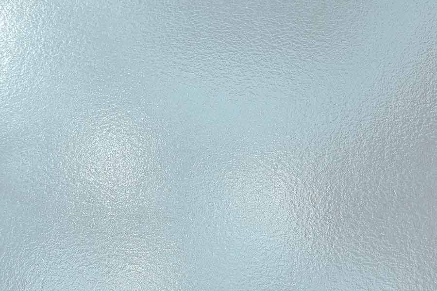 Light Blue Frosted Glass Texture