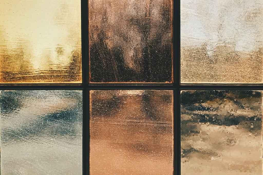 Retro Window Glass Background