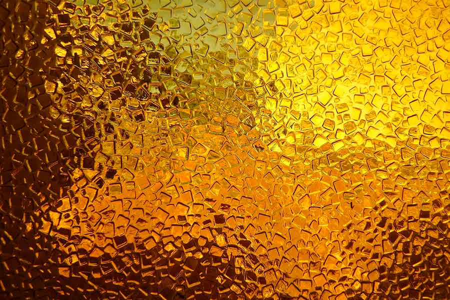 Yellow Glass Texture