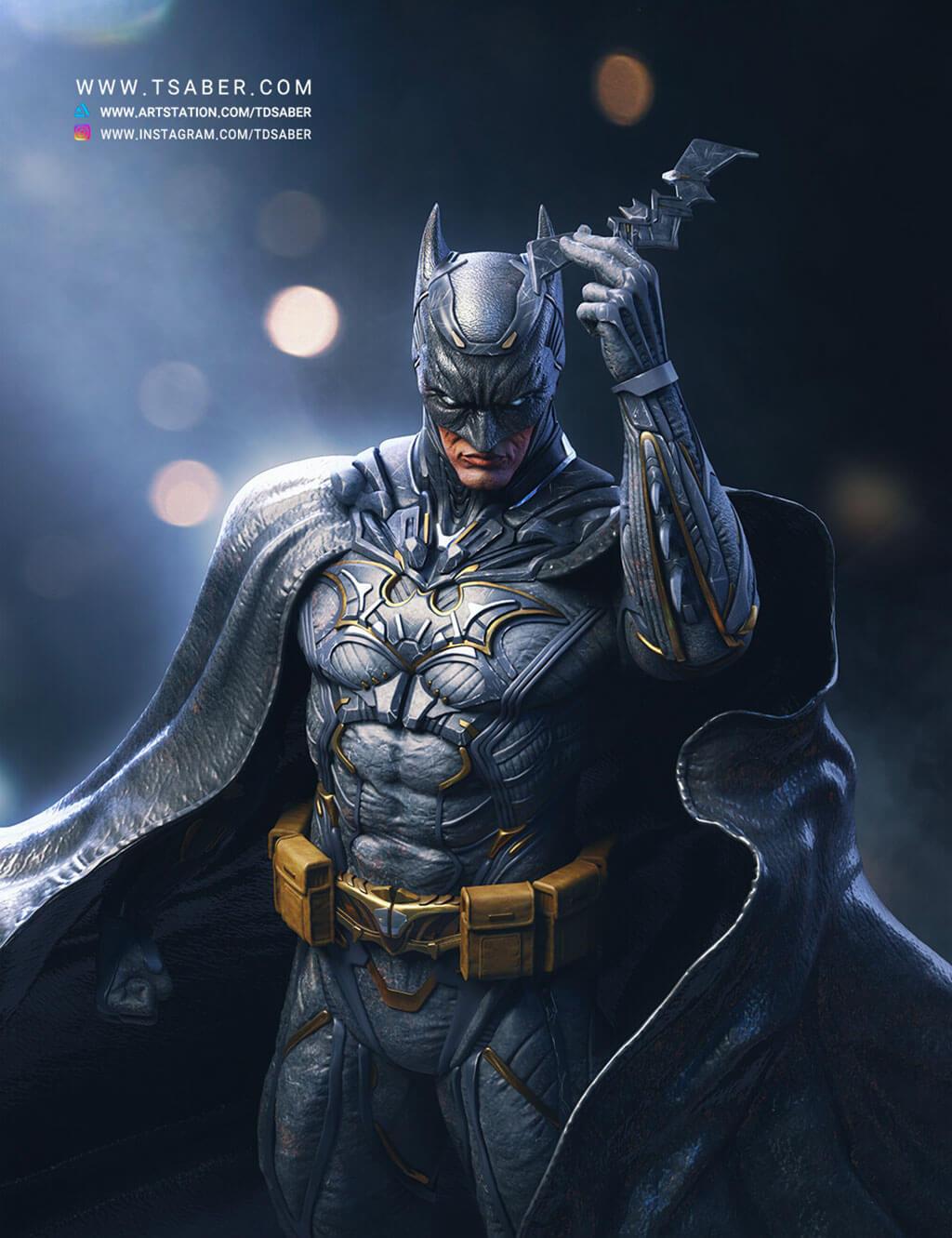 Batman Fan Art by Taregh Saber