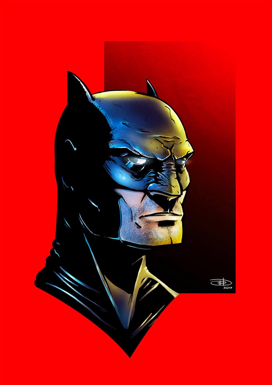 Batman Fan Art by Davide Manna