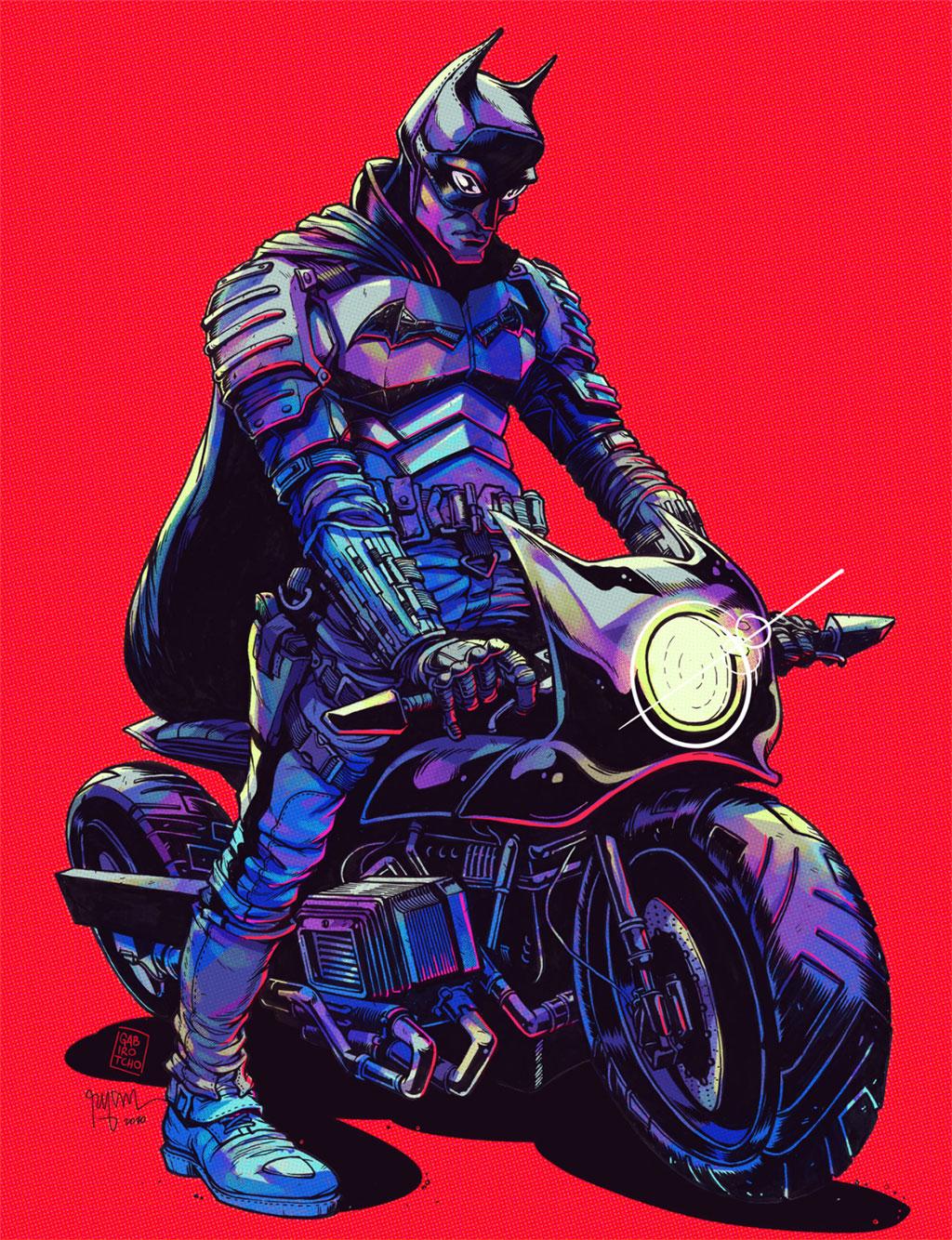 Batman Fan Art by Ryan Smallman
