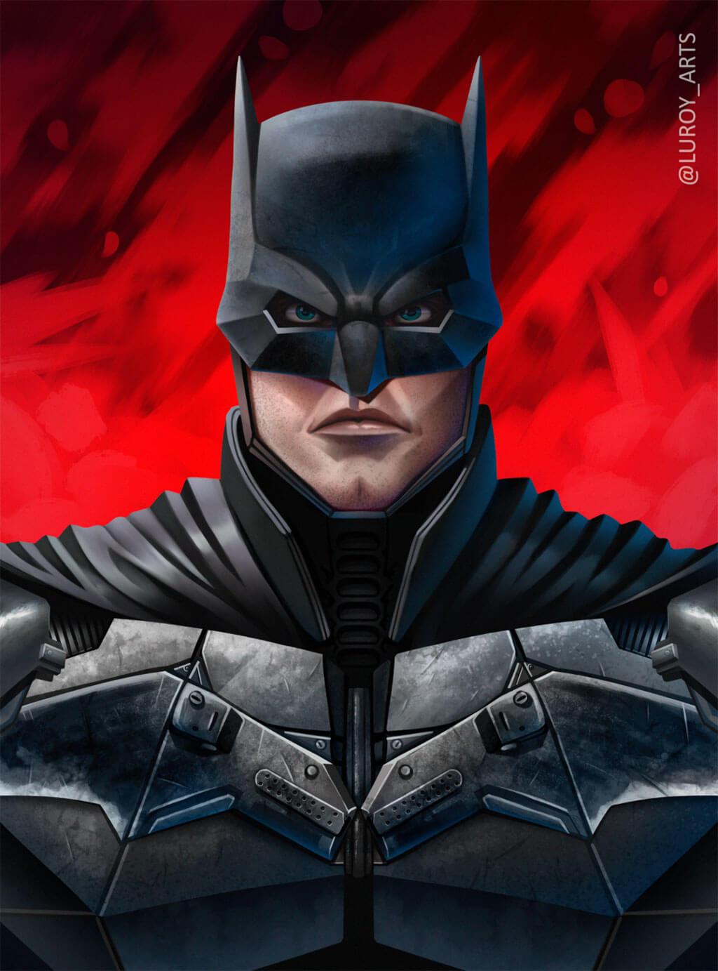 Batman Fan Art by Luis Fernando (Luroy)