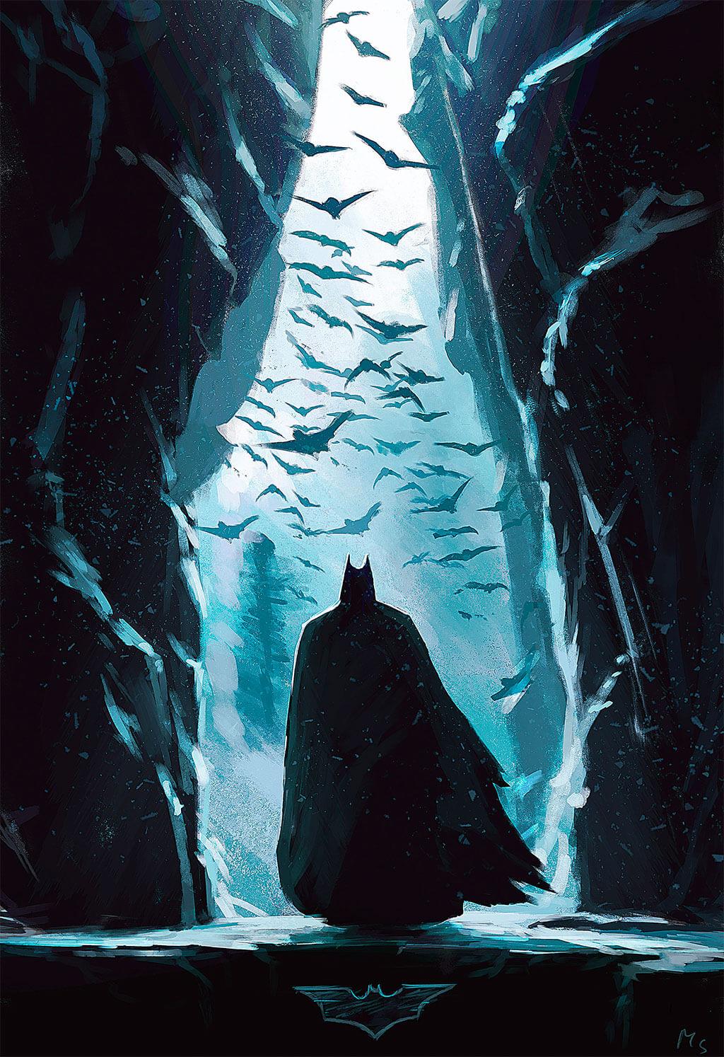 Batman Fan Art by Mathieu Seveno