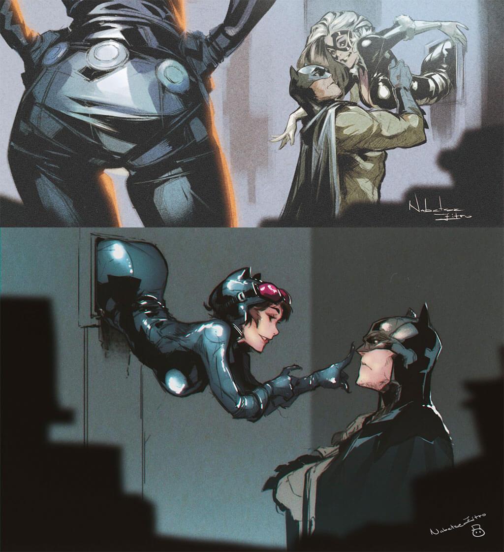 Batman Fan Art by Nabetse Zitro