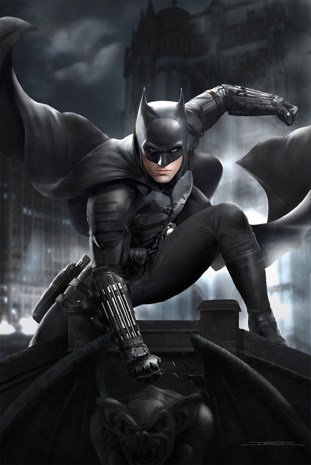 Batman Fan Art by Tiago Datrinti