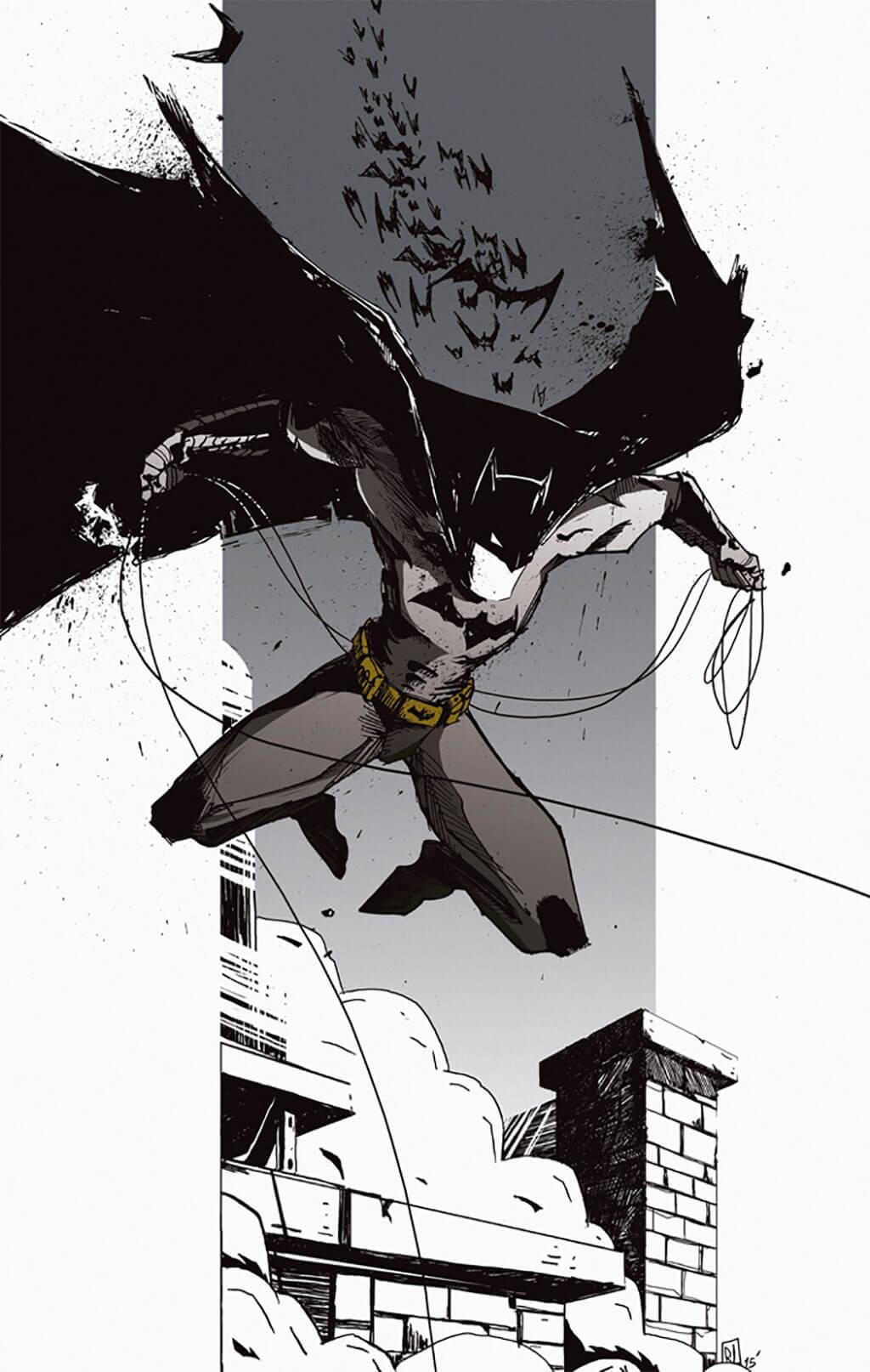 Batman Fan Art by Romain Laforet