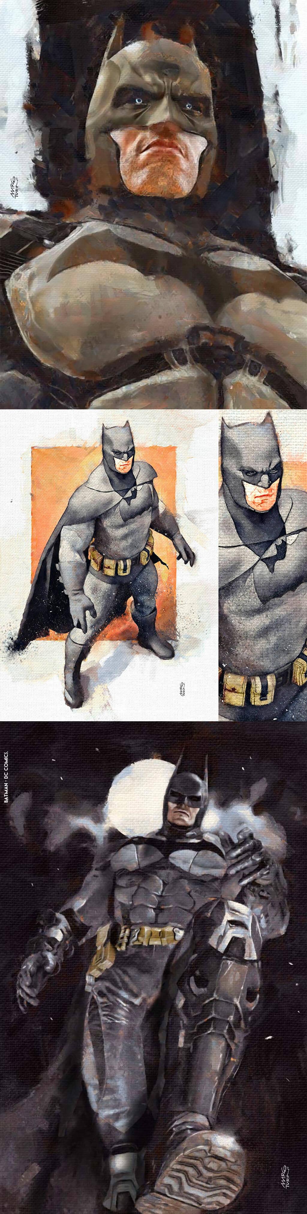 Batman Fan Art by Marco Turini