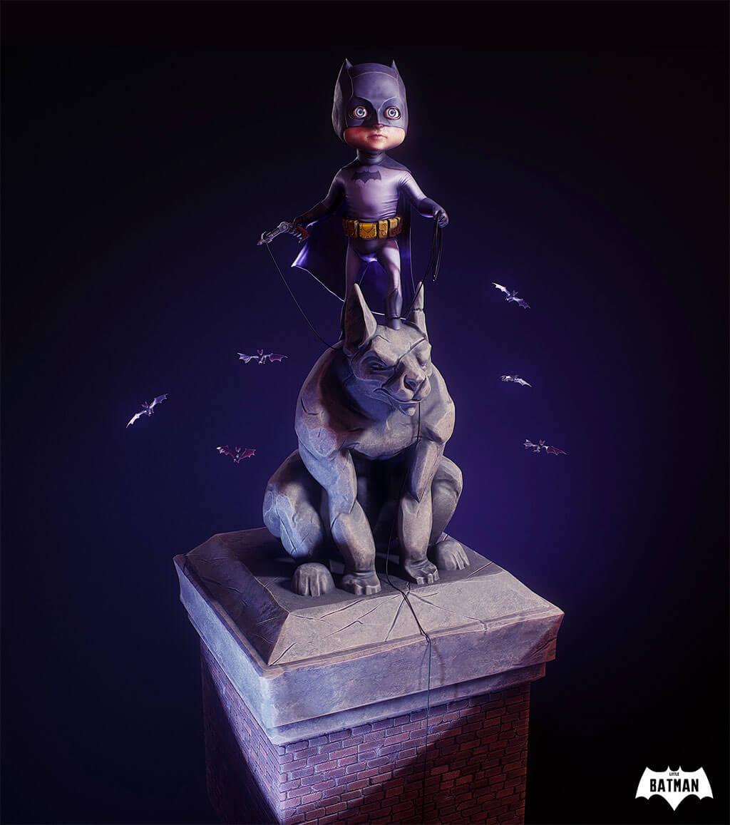 Batman Fan Art by Troy McCron