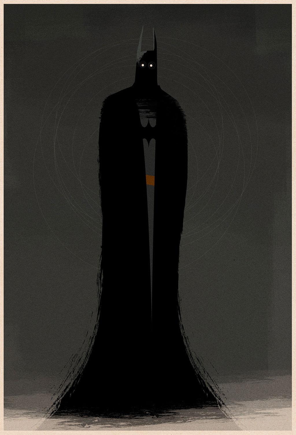 Batman Fan Art by Matt Griffin