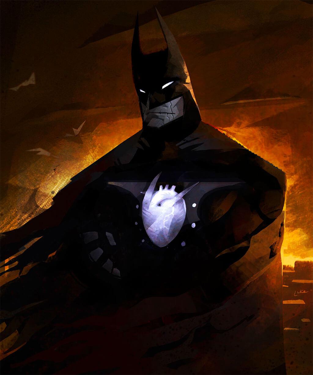 Batman Fan Art by Luke Harrington