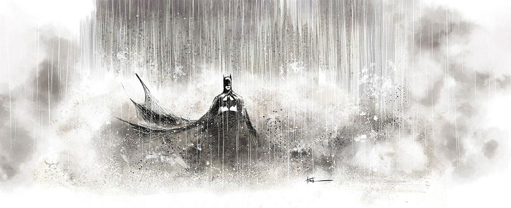 Batman Fan Art by Rick Troula
